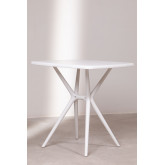 Quadratischer Tisch im Freien (72x72 cm) Enno, Miniaturansicht 4