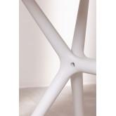 Quadratischer Tisch im Freien (72x72 cm) Enno, Miniaturansicht 6
