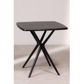 Quadratischer Tisch im Freien (72x72 cm) Enno, Miniaturansicht 3