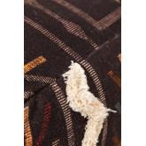 Quadratischer Pouf aus Stoff und Baumwolle Tälhy, Miniaturansicht 3