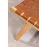 Zaid Holz- und Ledersessel, Miniaturansicht 5