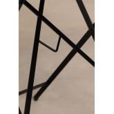 Klappbarer Gartentisch aus Stahl (77x77 cm) Dreh, Miniaturansicht 5