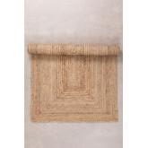 Geflochtener Teppich Tempo aus Naturjute, Miniaturansicht 2