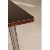 Quadratischer Esstisch aus Holz (80x80) LIX Gebürstet, Miniaturansicht 3