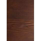 Quadratischer Esstisch aus Holz (80x80) LIX Gebürstet, Miniaturansicht 5