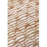 Viereckiger Pouf aus Finx-Baumwolle , Miniaturansicht 5