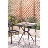 Quadratischer Tisch im Freien (72x72 cm) Enno, Miniaturansicht 1