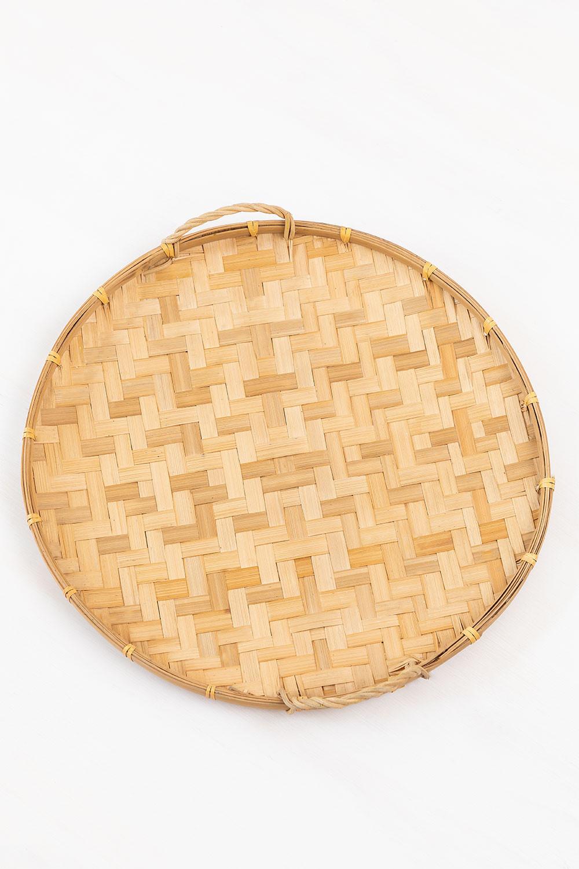 Dekoratives Tablett aus Sikar-Bambus, Galeriebild 1