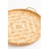 Dekoratives Tablett aus Sikar-Bambus, Miniaturansicht 2