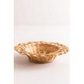 Dekorative Platte in Rewa Bambus, Miniaturansicht 1