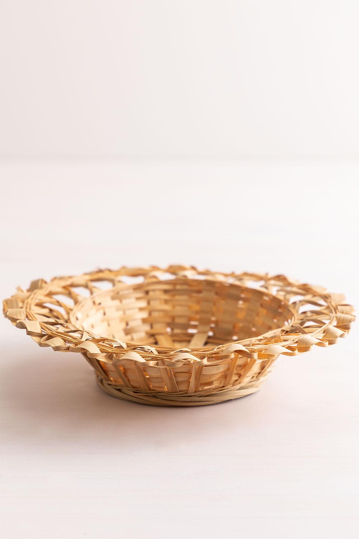 Dekorative Platte in Rewa Bambus, Galeriebild 1