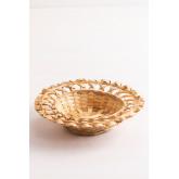 Dekorative Platte in Rewa Bambus, Miniaturansicht 2