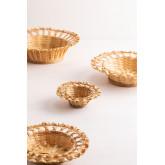 Dekorative Platte in Rewa Bambus, Miniaturansicht 6