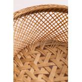 Pack mit 4 dekorativen Tellern aus Bambus Murwa, Miniaturansicht 5