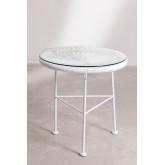 Neu Acapulco Weiß Tisch, Miniaturansicht 2