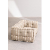Modulares Sofa aus Baumwolle Dhel Boho, Miniaturansicht 4