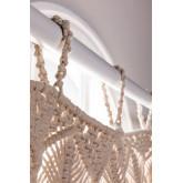 Makramee-Vorhang (215 x 110 cm) Zulema, Miniaturansicht 2