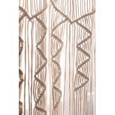 Makramee-Vorhang (215 x 110 cm) Zulema, Miniaturansicht 4