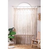 Makramee-Vorhang (215 x 110 cm) Zulema, Miniaturansicht 1