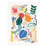 Set mit 2 dekorativen Blättern (50x70 cm) Varmy, Miniaturansicht 3