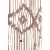 Makramee-Vorhang (215x110 cm) Luana, Miniaturansicht 4