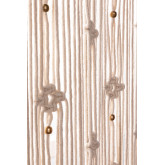 Makramee-Vorhang (215x110 cm) Luana, Miniaturansicht 5