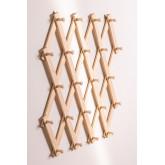 Ixi Double Wood Wandgarderobe, Miniaturansicht 4