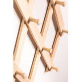 Ixi Double Wood Wandgarderobe, Miniaturansicht 5