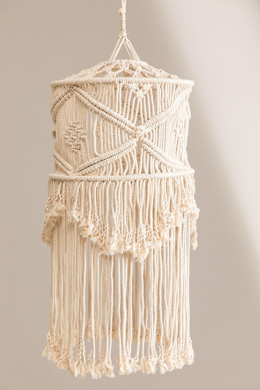 Teala Makramee Lampenschirm, Galeriebild 1