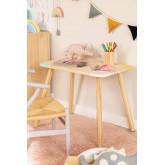 Rechteckiger Holztisch (60x40 cm) Kandy Kids, Miniaturansicht 1
