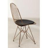 Stuhl BRICH metallisiert, Miniaturansicht 4