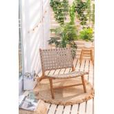 Gartenstuhl aus Teakholz Diama, Miniaturansicht 1