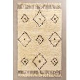 Teppich aus Baumwolle und Wolle (215 x 125 cm) Ariana, Miniaturansicht 1