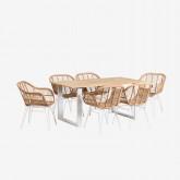Packs Stühle und Tische