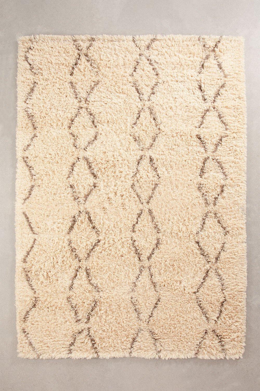 Teppich aus Baumwolle und Wolle (232x164 cm) Ewan, Galeriebild 1