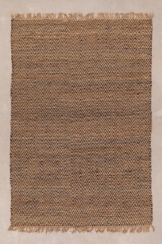 Naturjute-Teppich (234x162 cm) Wuve, Galeriebild 1