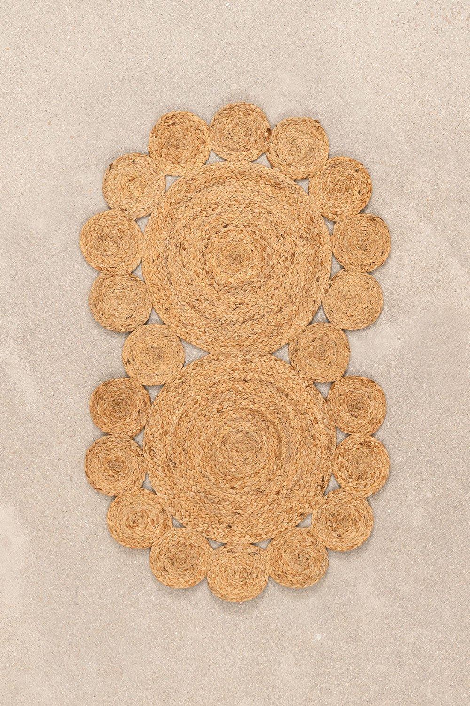 Natürliche Jute-Fußmatte (96x57 cm) Otilie, Galeriebild 1