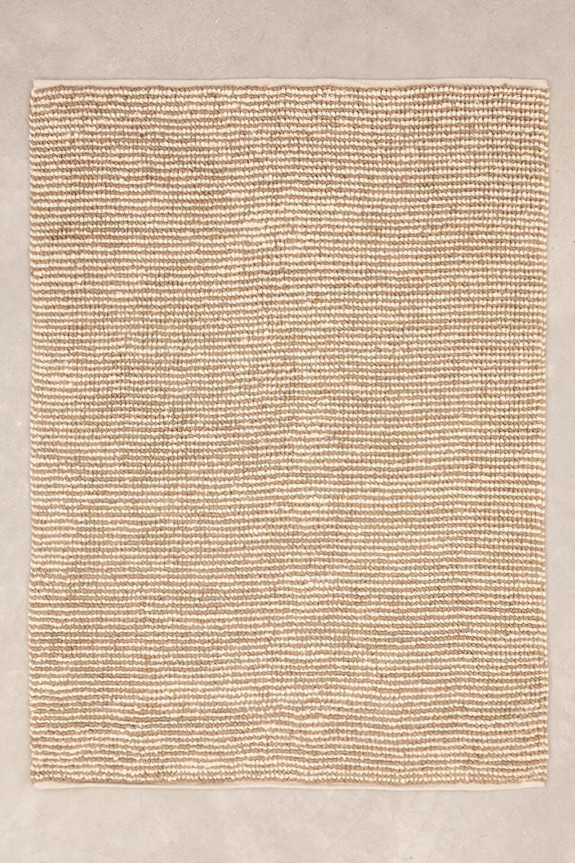 Teppich aus Jute und Wolle (228x165 cm) Prixet, Galeriebild 1