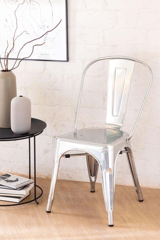 Stuhl LIX gebürstet, Galeriebild 1