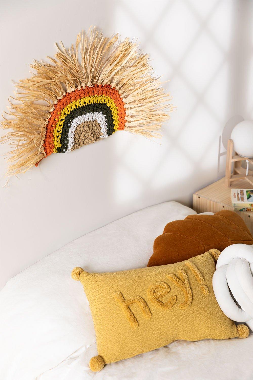 Zulu Kids dekorativer Teppich, Galeriebild 1
