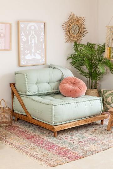 Modulares Sofa aus Baumwolle Yebel
