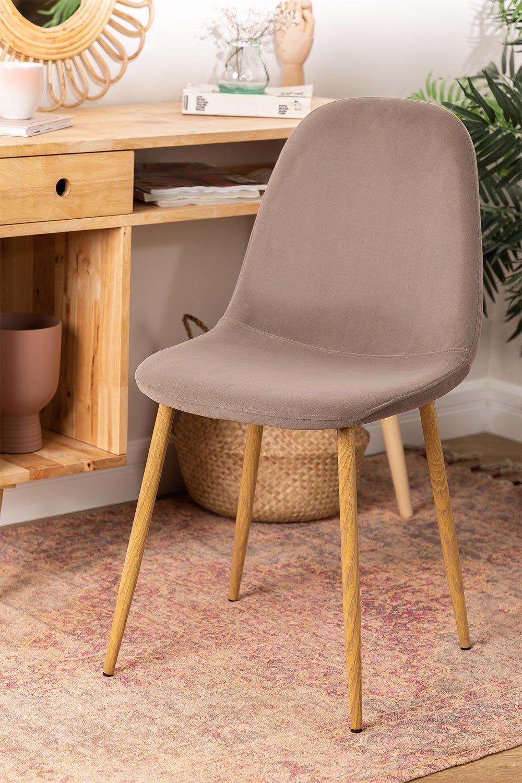 Stuhl aus Samt  Glamm, Galeriebild 1