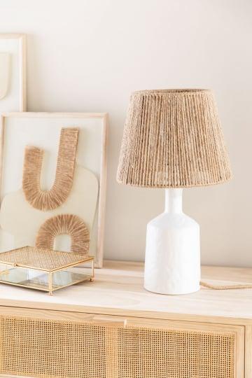 Tischlampe aus Keramik Elin