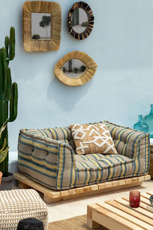 Basis für modulares Sofa in Maomi Wood, Galeriebild 1