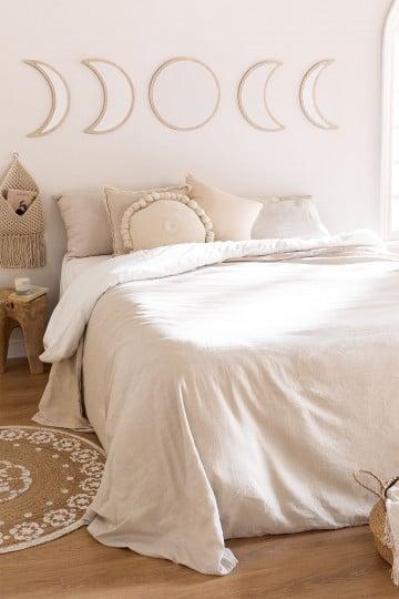 Bettbezug aus Leinen und Baumwolle von Ragnar