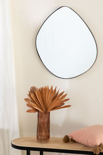 Metallwandspiegel (67x60 cm) Astrid