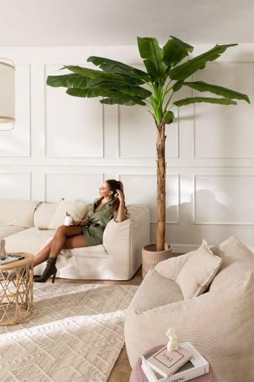 Dekorativer künstlicher Bananenbaum