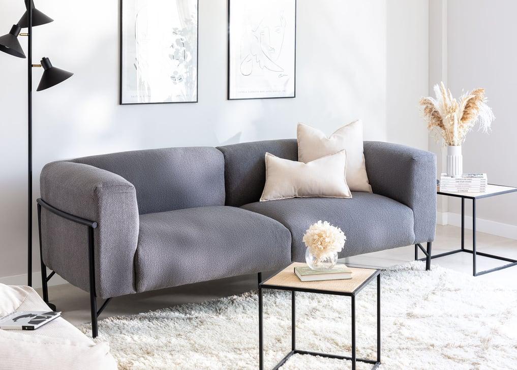 3-Sitzer Sofa aus Chenille Risk, Galeriebild 1
