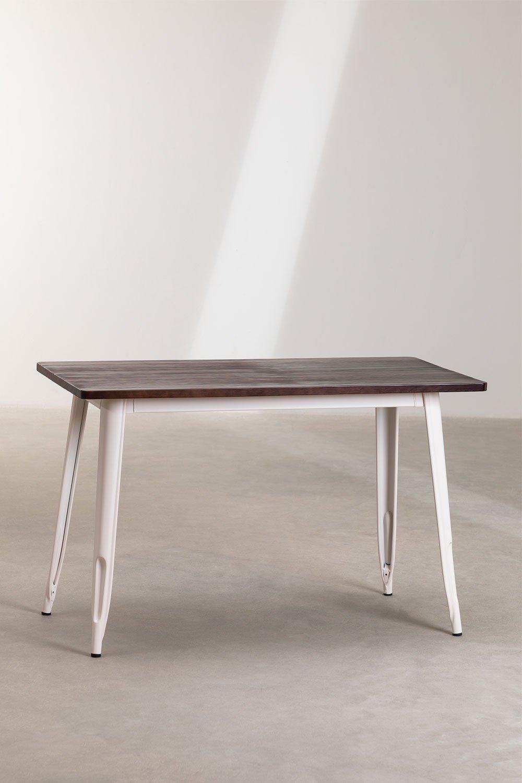 Tisch LIX Matt Holz (120x60), Galeriebild 1