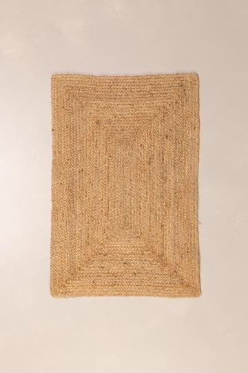 Natürliche Jute Fußmatte (90x60 cm) Airo